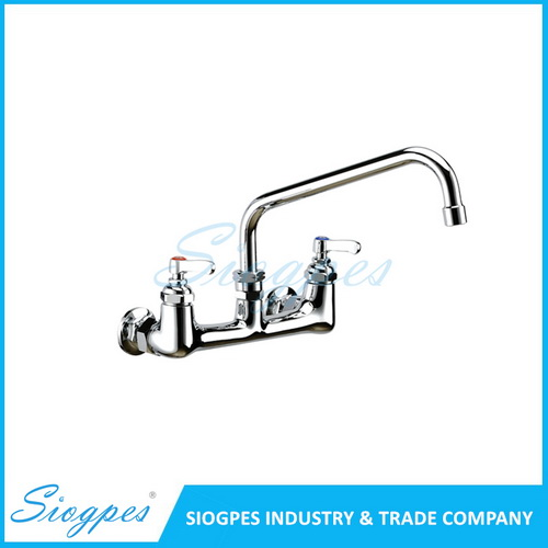 K32101 Wall Mounted Kitchen Sink Faucet with Swing Spout