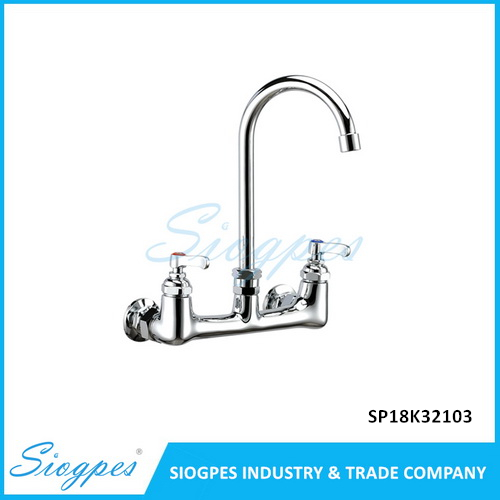 Wall Mounted Industrial Pantry Kitchen Faucet SP18K32103