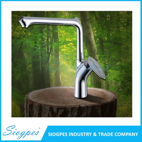 C6002 Patent Design Brass with Chrome Kitchen Faucet